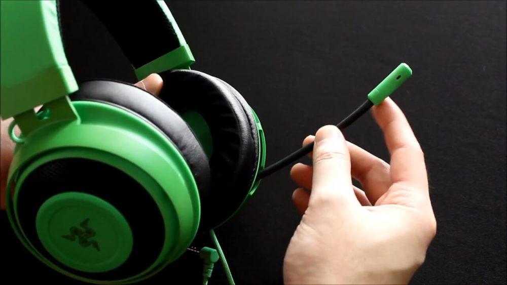 【Razer Kraken TE】パッシブ方式のノイズキャンセリングマイク