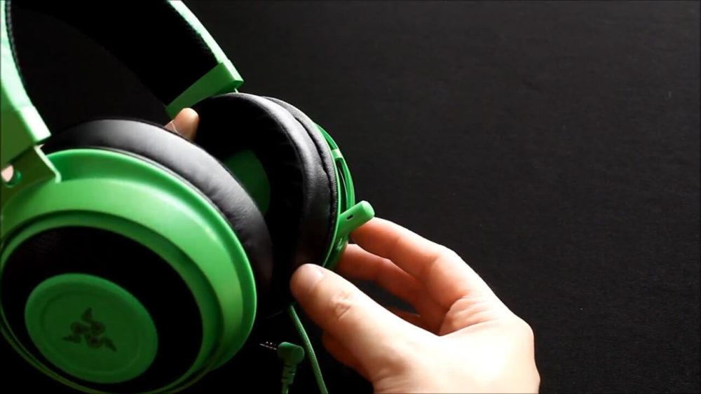 【Razer Kraken TE】格納式単一指向性の高音質コンデンサーマイク