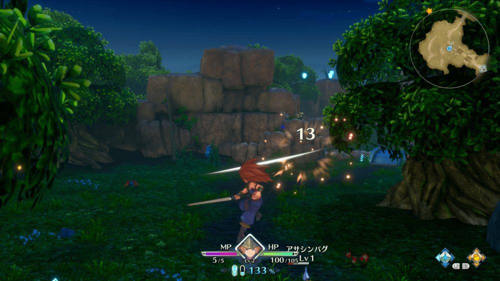 聖剣伝説3シームレスな戦闘バトル