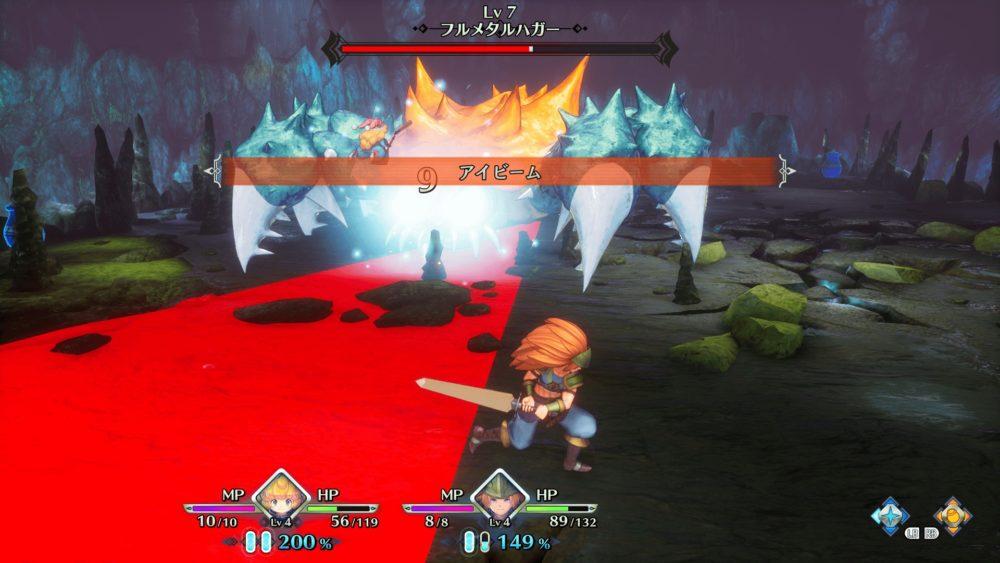 聖剣伝説3のボス戦
